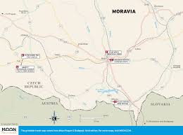 Map Of Czech Republic Printable Travel Maps Of Prague Moon Travel Guides