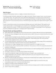 It Business Analyst Job Description Resume by How To Write A Business Analyst Job Description Xpertresumes Com