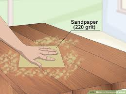 Homemade Wood Stain Learn To Make Natural Stain At Home by 3 Ways To Waterproof Wood Wikihow