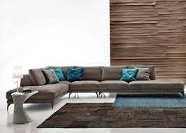 coussin canapé gris design interieur canapé angle gris coussins tapis marron canapé d