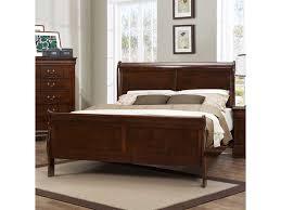 Homelegance Bedroom Furniture Homelegance Bedroom Mayville Cherry Bed King 488715 Furniture