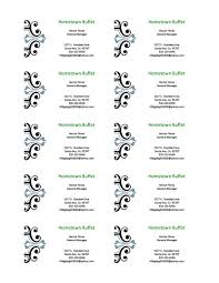 Template For Business Cards 10 Per Sheet by Avery Templates For Microsoft Word 2007 Pacq Co