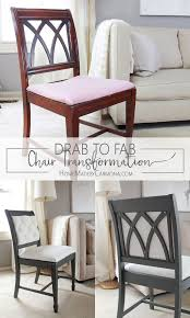 Recovering Dining Chairs Best 25 Dining Chair Makeover Ideas On Pinterest Kitchen Chair
