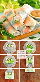 paper wraps rice paper rolls rolls recipe