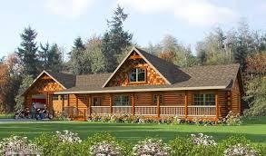 log house log home rendering log cabin renderings