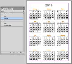 mini calendar template it s indesign calendar template time from indesignsecrets