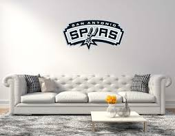 wall decals stickers home decor home furniture diy san antonio spurs nba basketball wall decal vinyl sticker for room home car