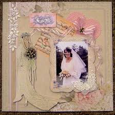 our wedding scrapbook wedding scrapbook page