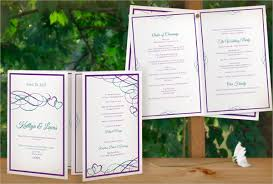 bi fold wedding program template 17 wedding program template free premium templates