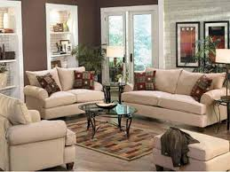 cream living room curtains ideas with table lamp on desk