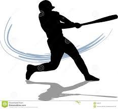swinging baseball bat clip art 42