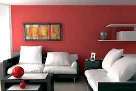 burgundy living room decor concept with white couch on dark frame