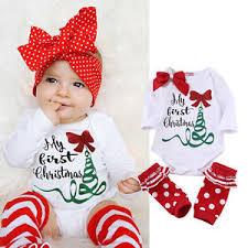 my christmas baby girl my 1st christmas baby boy girl clothes romper bodysuit