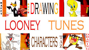 draw looney tunes characters easy bugs bunny taz daffy