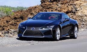 lexus lc500h fuel economy 2018 lexus lc 500 first drive review autonxt