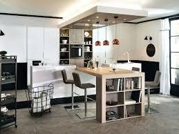 table bar cuisine avec rangement cuisine avec table haute largeur bar cuisine beautiful awesome