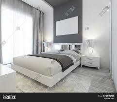 bedroom art deco style white gray image u0026 photo bigstock