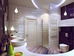 Glass Tile Bathroom Ideas by Bathroom Enchanting Small Bathroom With White Sink Basins Also