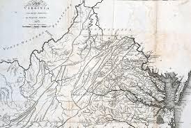 Jamestown Virginia Map The Thomas Jefferson Hour