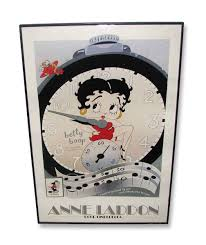 collectable betty boop anne laddon poster olde good things collectable betty boop anne laddon poster