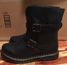 womens boots size 9 uk cool dr martens womens black kristy motorcycle boot size 9 us
