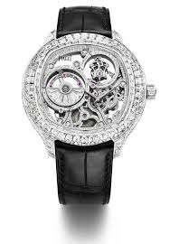 piaget emperador piaget emperador coussin tourbillon diamond set automatic skeleton