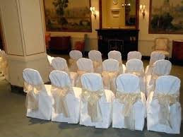 ivory chair covers chair covers with bow white and ivory chair covers available for