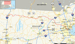 Lexington And Concord Map Massachusetts Route 2a Wikipedia