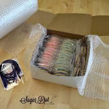 shipping sugar dot cookies handmade decorated sugar