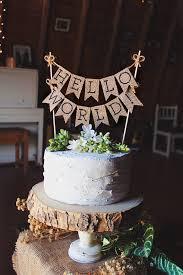 hello baby shower theme hello world cake topper baby shower cake topper hello baby