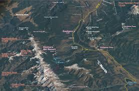 Aspen Colorado Map by Aspen Leaf Village 35 Resort Area Map