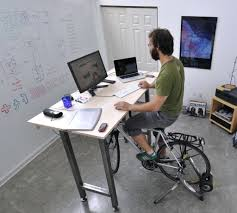 desk chairs bicycle seat office chair ideas desk fitdesk bike