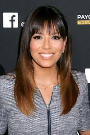 high forehead side bangs fine hair the right bangs to flatter your face shape instyle com