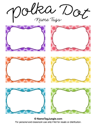 printable name tags name tag template free printable all about letter exles