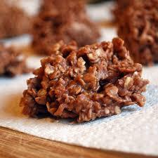 no bake chocolate oatmeal coconut cookies cake student