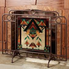 fireplace peacock fireplace screen screen home depot