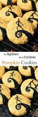 the nightmare before christmas pumpkin cookies recipe