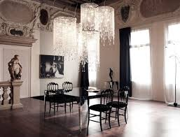 Gothic Dining Room by Bewitching Interior Dining Room With Classy Home Decor With Sleek