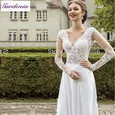 lace top wedding dress turmec lace top sleeve wedding dress