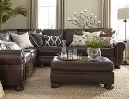 home decor brown leather sofa throw pillows brown leather sofa thecreativescientist com