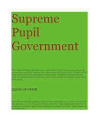 supreme pupil government leadership u0026 mentoring leadership