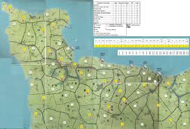Normandy Map D Day Campaign Rules And Map U2013 Sad Wargamers