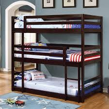 3 Bed Bunk Bed Coaster Bunk Bed Cappuccino Box 3 Of 3 Walmart
