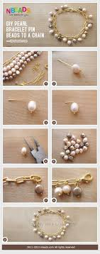 diy bead chain bracelet images Diy pearl bracelet string beads to a chain pictures photos and jpg