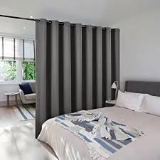 amazon com room dividers curtains screens partitions nicetown