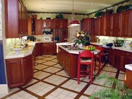 tile floors country kitchen cabinet ideas best mid range acoustic