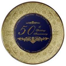 50th anniversary plate personalized personalized names dates 50th anniversary plate