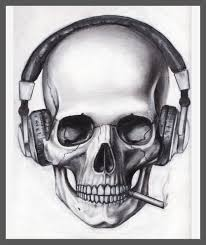 skull tattoo images free skull with music skulls pinterest tattoo drawings and