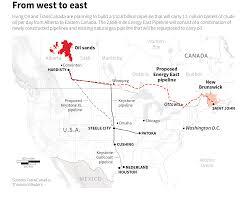 Keystone Pipeline Map No Keystone Xl Pipeline No Problem Says Canadian Firm Planning