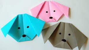 diy dog craft for kids çocuklar için origami youtube